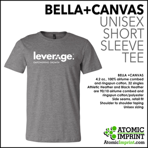 Leverage Unisex Short Sleeve T-Shirt