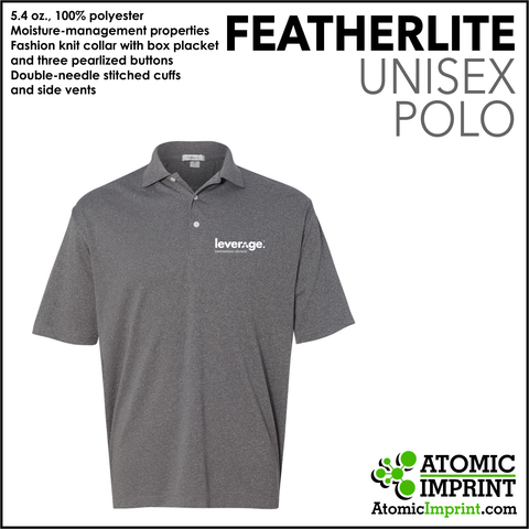 Leverage Unisex Dry-Fit Polo