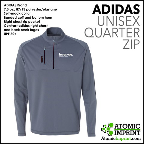 Leverage Adidas Quarter-Zip Unisex  Jacket