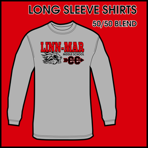 Linn-Mar Middle School Cross Country Long Sleeve Dry-Fit Tee