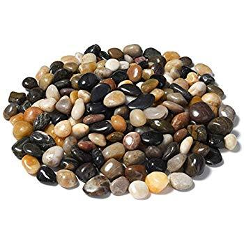 Mixed Coloured Pebbles