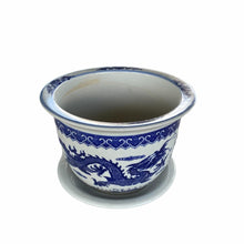Load image into Gallery viewer, Oriental Classic Blue and White Pot