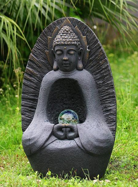 Buddha Meditation Fountain | Garden Water Feature | Fountains/Water Features