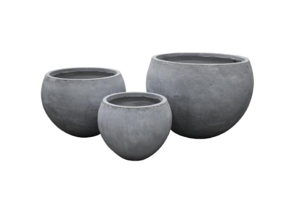 Fiber Stone Cut Top Pot
