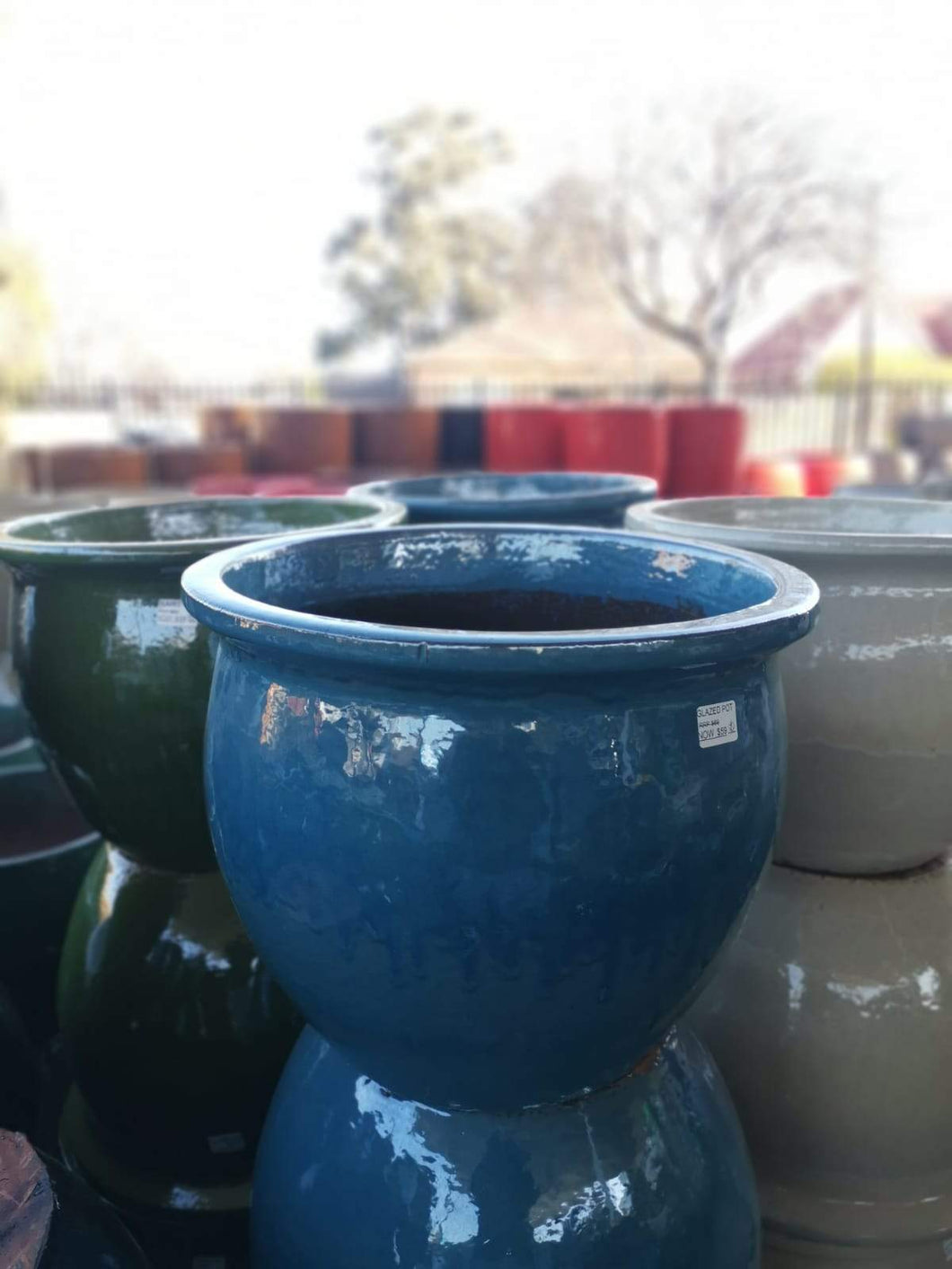 Glazed Rim Pot | Glazed Pots | Pottery