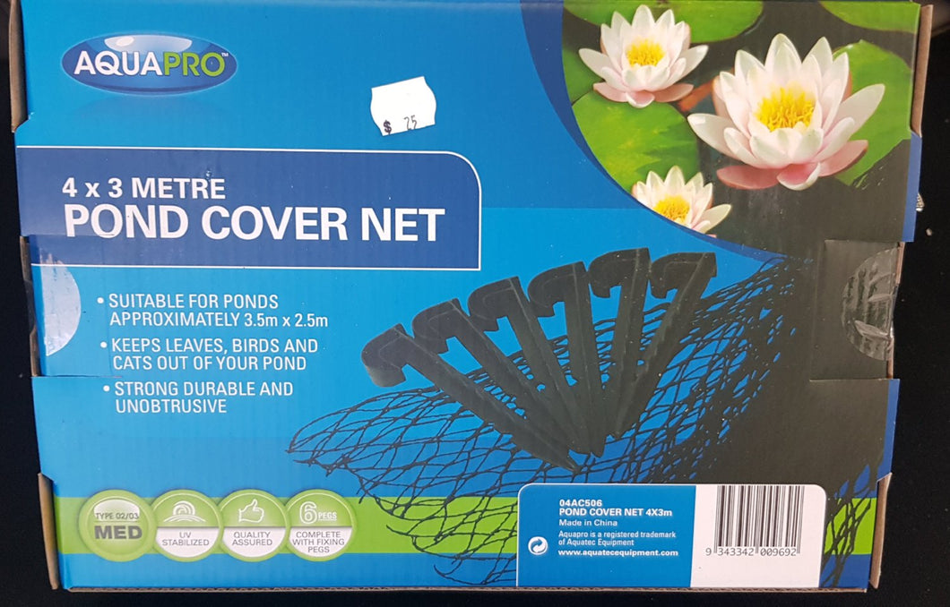 Pet Fish Pond Cover Net