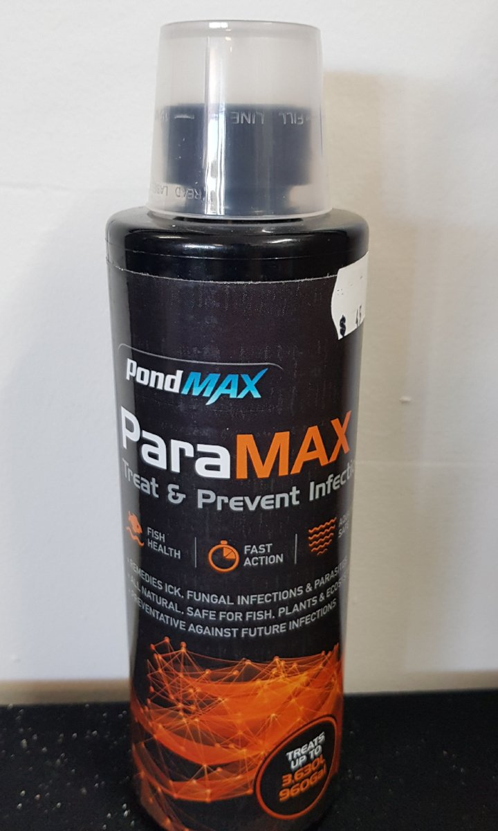 Pet Fish Paramax Treat & Prevent Infections