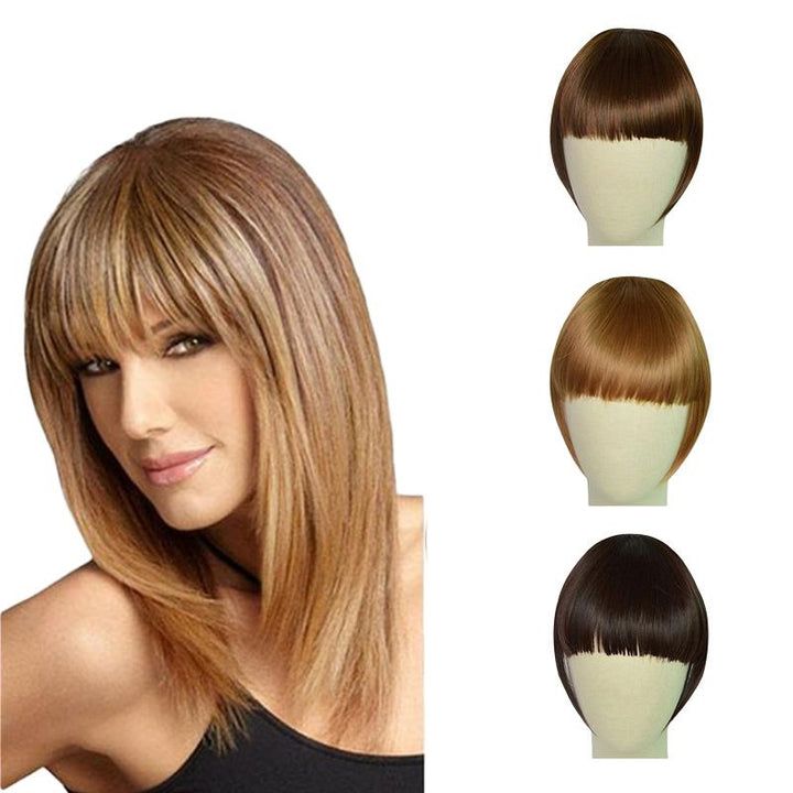 FASHION ONE PIECE CLIP IN HAIR BANGS