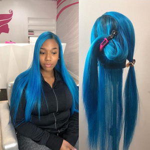 BRAZILIAN VIRGIN STRAIGHT FULL LACE WIG