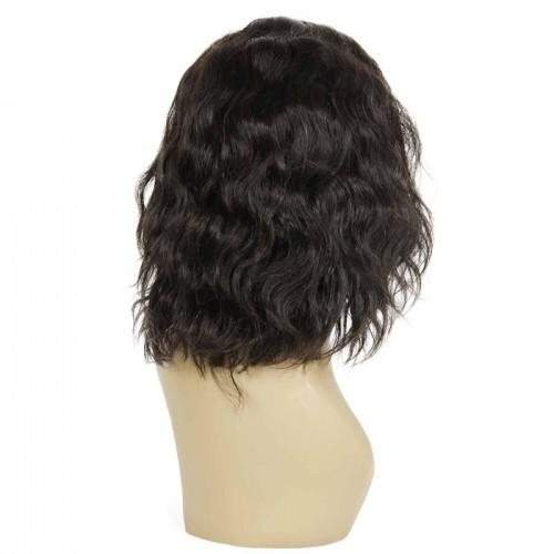 12 INCH NATURAL WAVY SHORT BOB INDIAN REMY HAIR