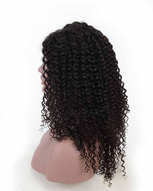 ENJOY 50% DISCOUNT LACE FRONT HUMAN HAIR WIG DEEP WAVE