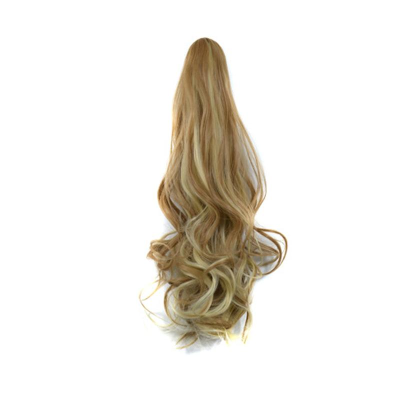 NATURAL CURLY WAVY HAIR PIECE PONY TAIL WIG