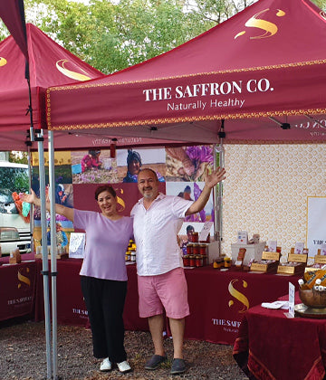 How did our Saffron business grew by 100% during Corona!