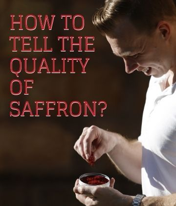 How to Tell the Quality of Saffron?