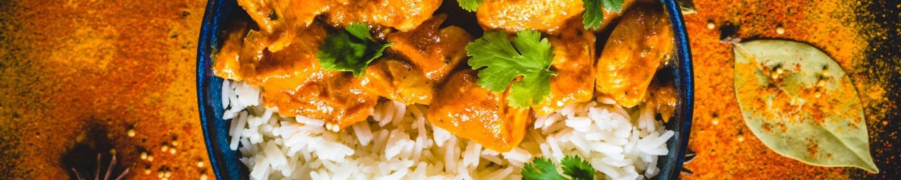 Butter Chicken With Saffron