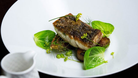 Crispy Barramundi with Saffron