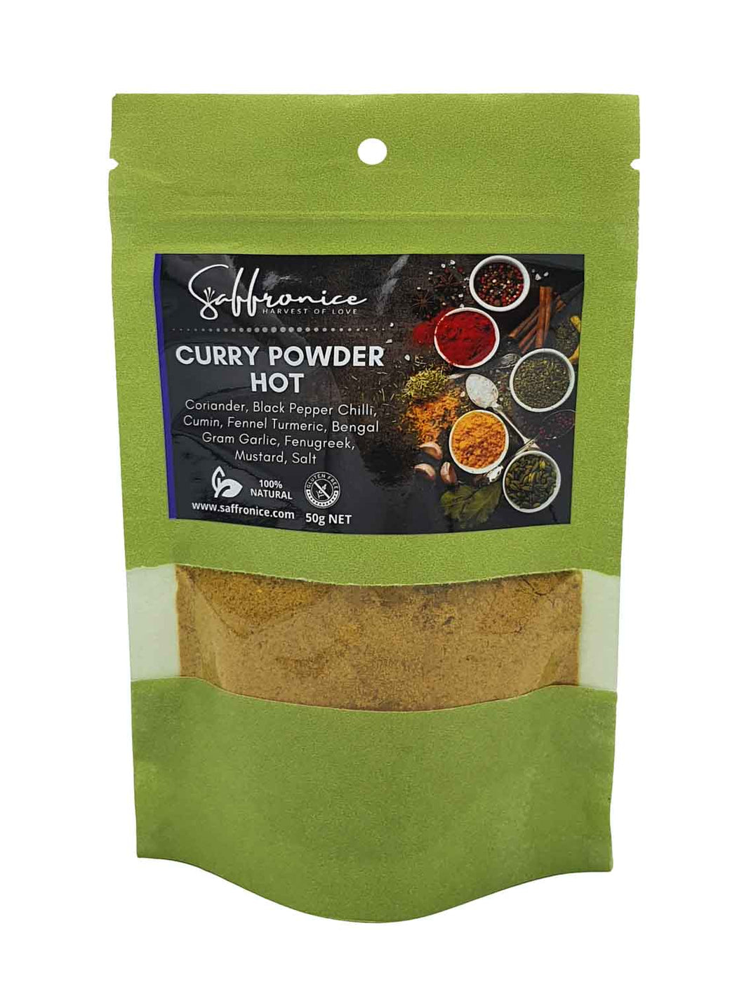 Curry powder Hot 50g