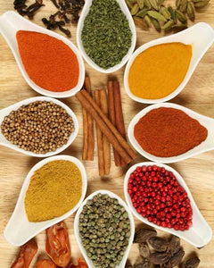 Herbs & Spices for Curry powder Mild