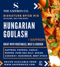 Load image into Gallery viewer, Hungarian Goulash Spice Mix with Saffron 50gr