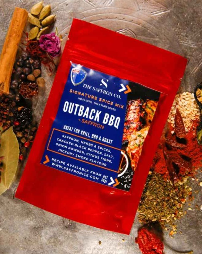 Outback BBQ Seasoning with Saffron 50gr