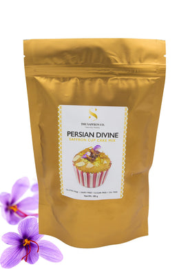 Saffron Cup Cake Ready Mix