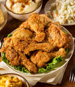 Southern Fried Chicken with Slaw