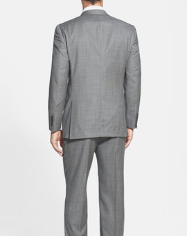 New York Classic Fit Wool Suit