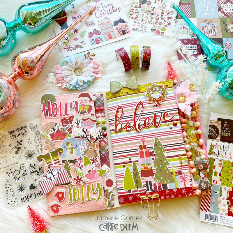 Holly Jolly Planner Set Up
