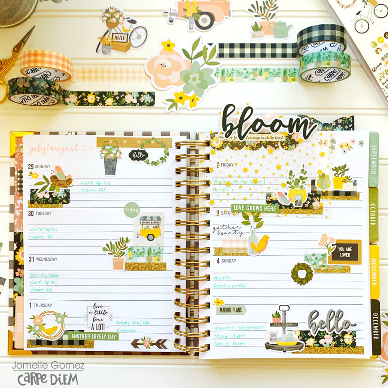Live Simply Spiral Planner!