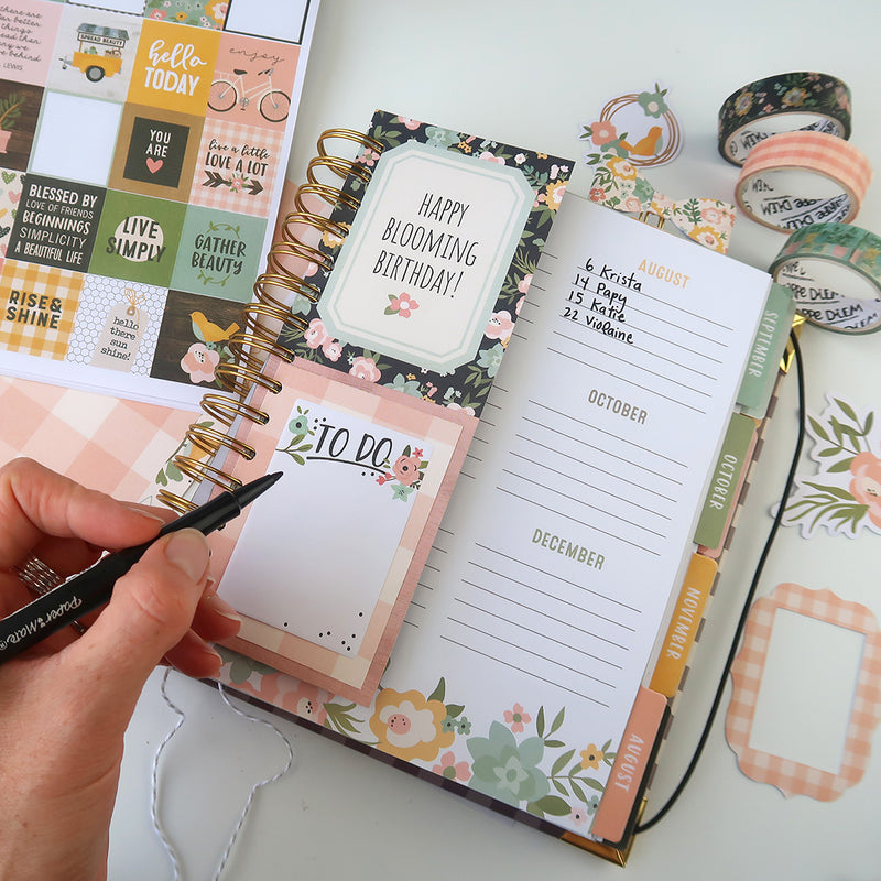 Live Simply Setup and Spiral Planner Hacks and Tips