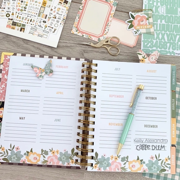 New Live Simply Spiral Planner Set Up