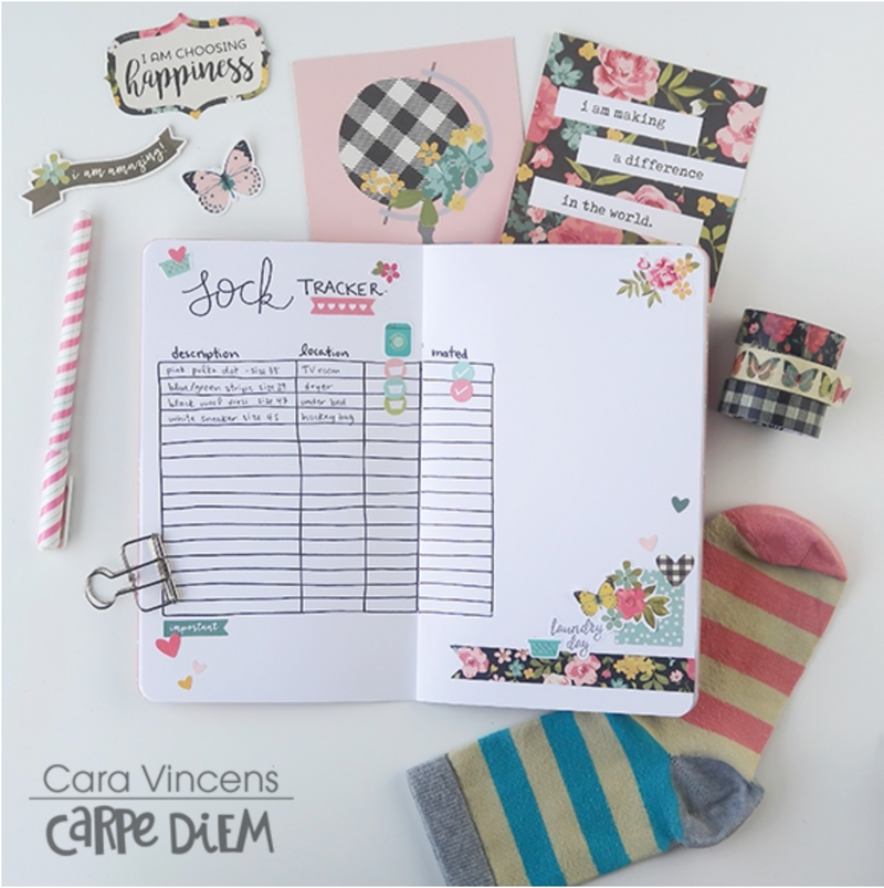 How to Create an Orphan Sock Planner
