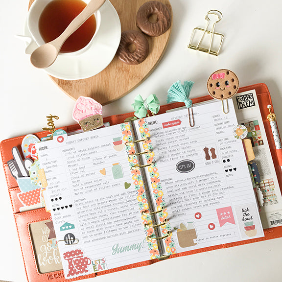Creating a Recipe Planner