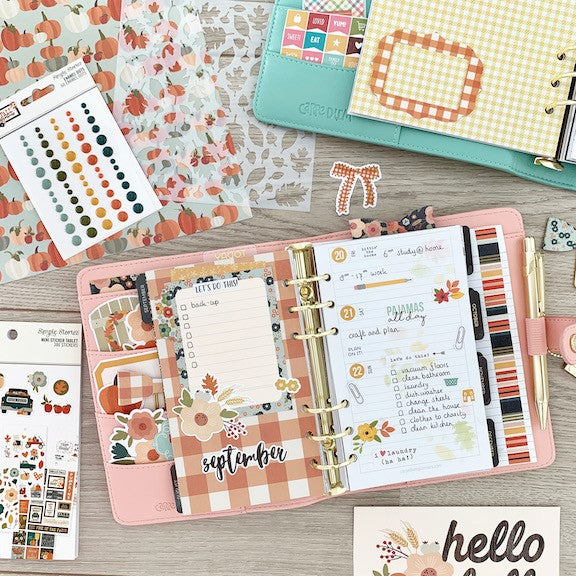 Fall Personal Planner