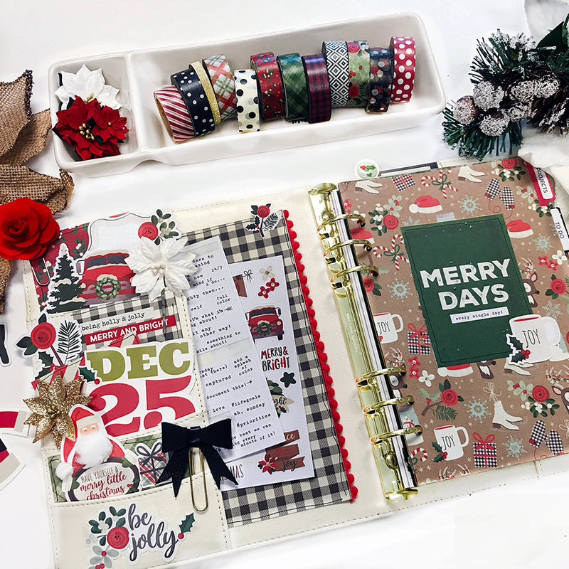December Set Up & Free Printables