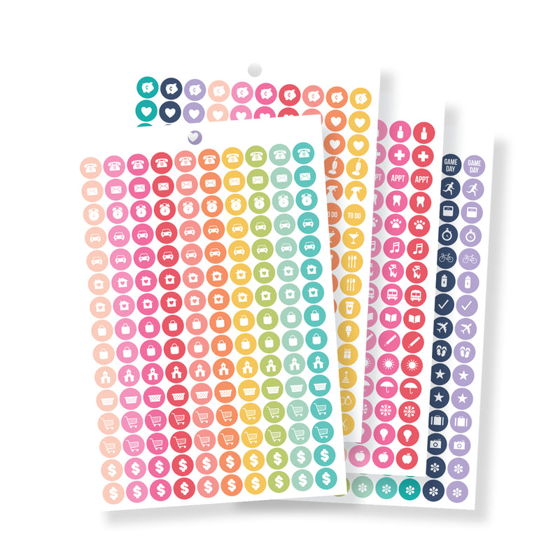Calendar Sticker Tablet