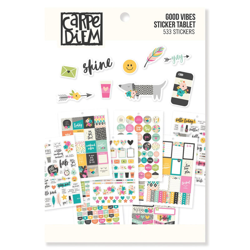 Live Simply Sticker Tablet