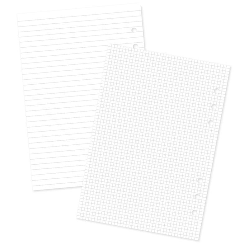 Blank/Grid Traveler's Notebook Inserts