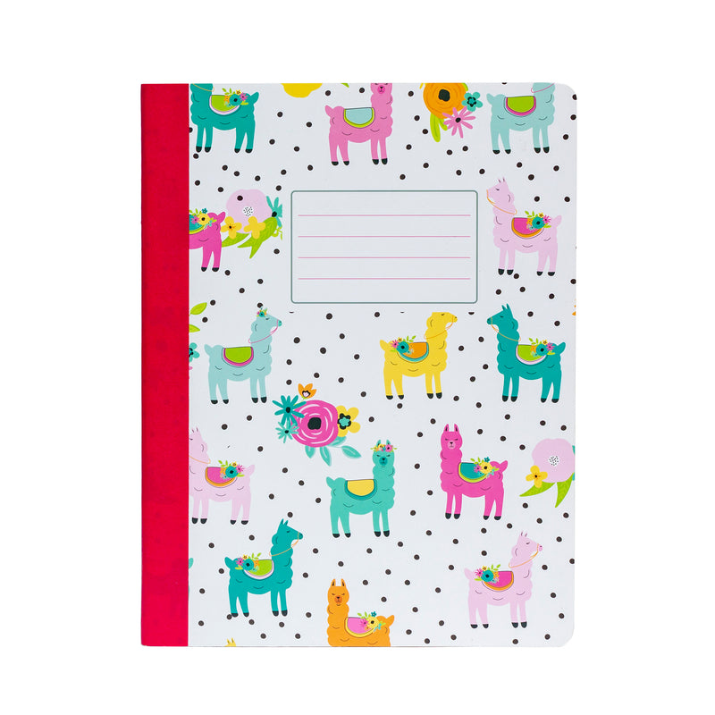 Color Wash Composition Books 3-pack