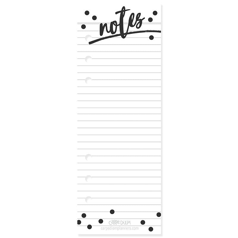 NEW Black Weekly Planner Pad