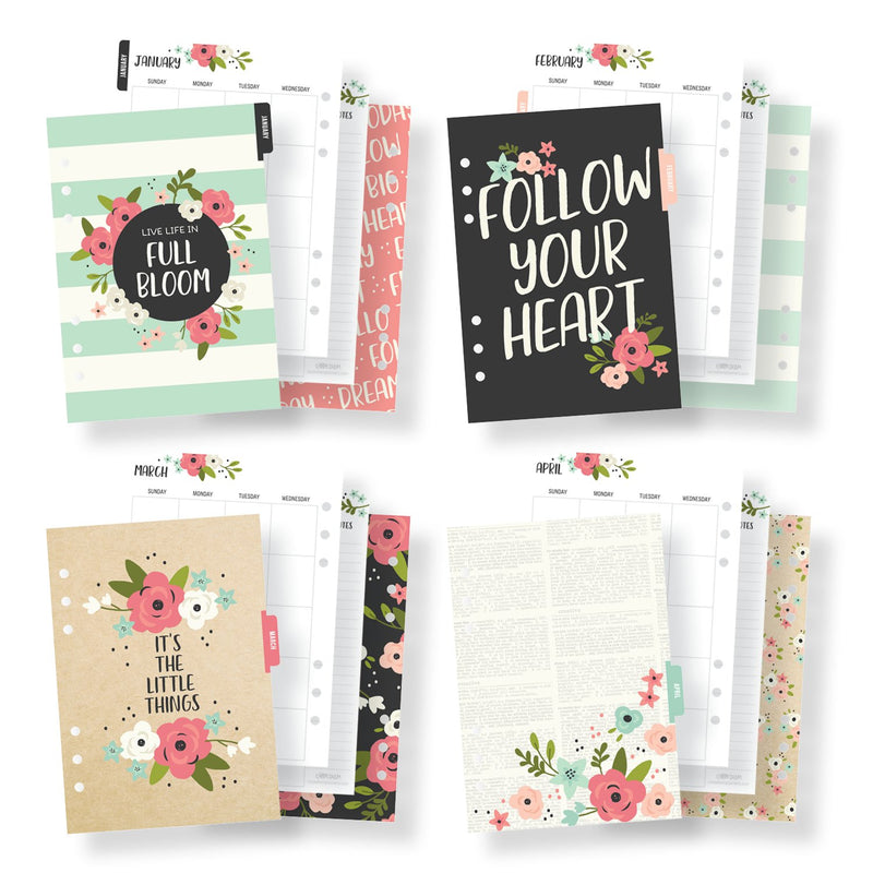 Bloom Traveler's Notebook Inserts