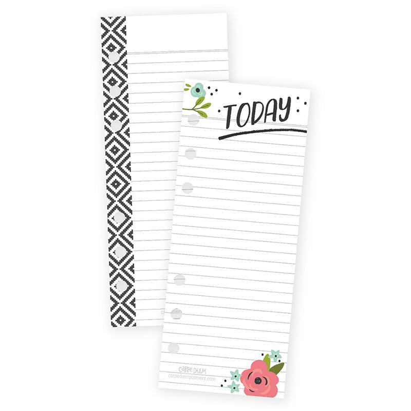 Floral Bookmark Tablet