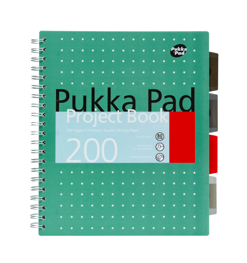Pukka Pads Single Subject Wirebound Notebook