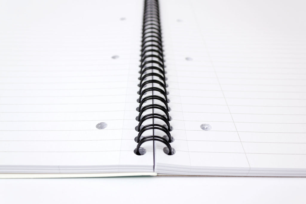 Editor 100 Page Letter Sized Notebook 3 pack