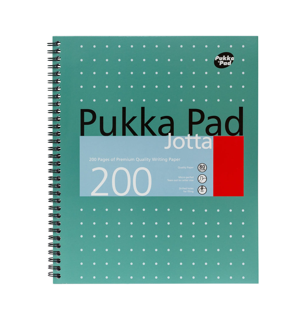Jotta 200 page letter sized notebook 3 pack
