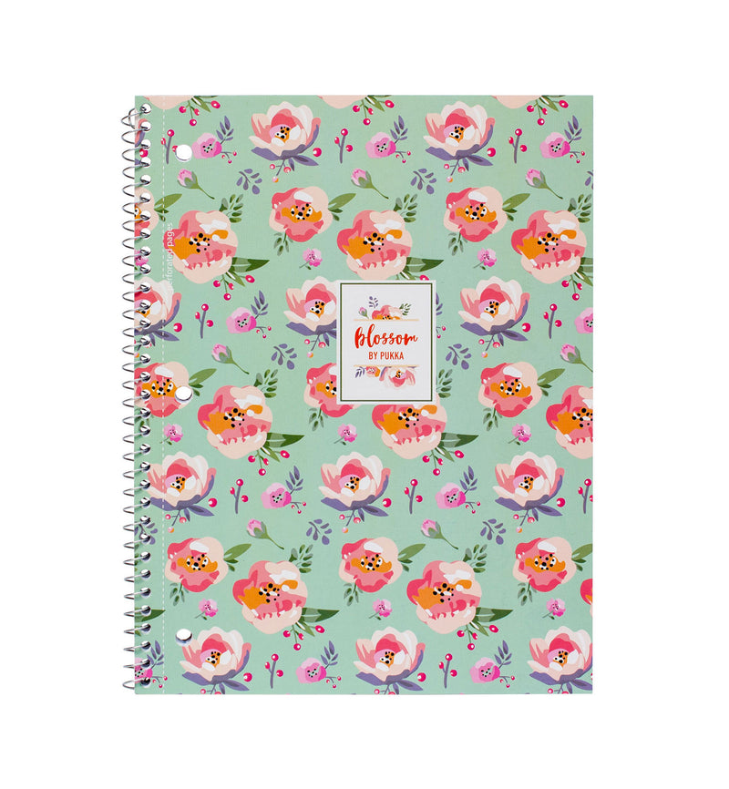 Blossom 1 Subject Notebook 3 pack