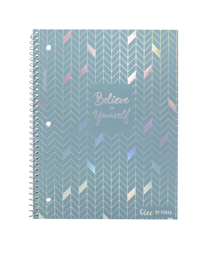 Glee 1-Subject Spiral Notebooks, Pack of 3