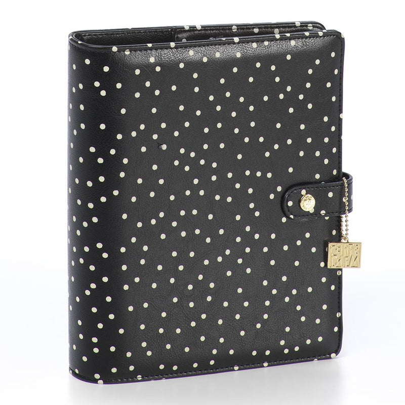 Cream Dot Traveler's Notebook