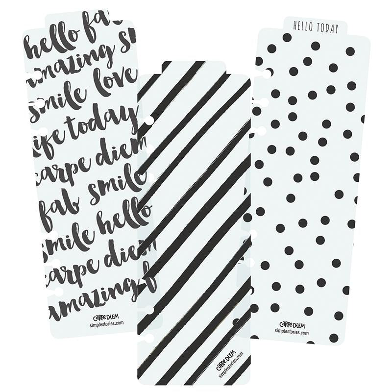 Black Daily Planner Pad