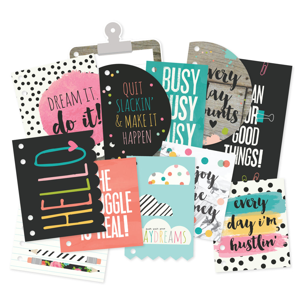 Carpe Diem Dashboard and Pocket Cards